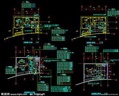 设计原理图时要根据选定的最佳设计方案再结合所选电气元件的电气接线