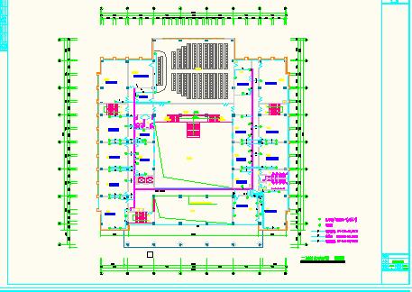 综合布线电气图纸(cad图纸)