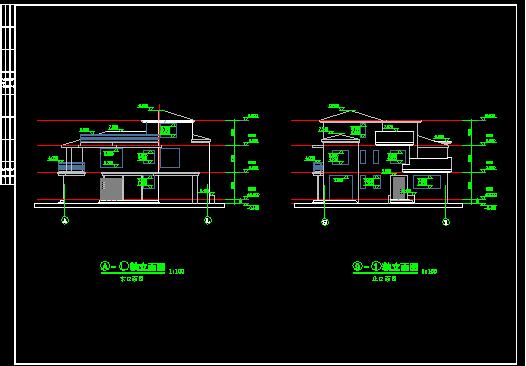 国内某农村小别墅建筑设计方案cad图纸 建筑设计学习指南