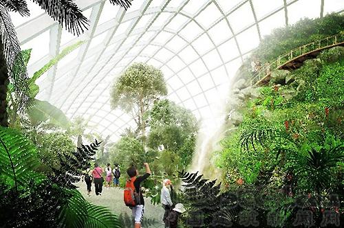 约翰.麦卡兰东莞植物园设计-景观滨水