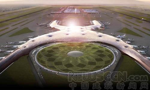 墨西哥城新機場設計方案出爐